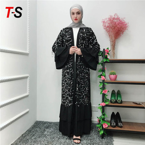Best selling muslim clothing women dress new style abayas in dubai
