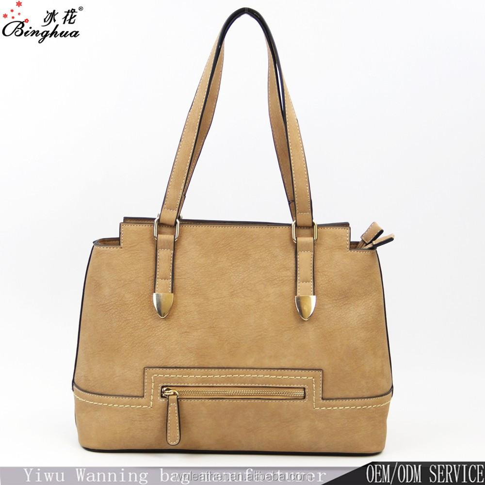 A-192 China Alibaba 2018 New Collection BINGHUA Jing Pin PU Leather Women  Bags Lady Tote Bag 1331692fce603