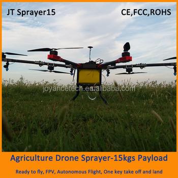 2016 Joyance Agras Jt Sprayer15 Octocopter Agricultural Spraying Drone 15kg  Drone Agriculture - Buy Agriculture Drone,Drone Sprayer,Spraying Drone For