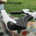 CoolChange 2 Colors Cycling Accessories MTB Components Bar ends Handlebars Rubber Grips Aluminum Barend Soft Bicycle