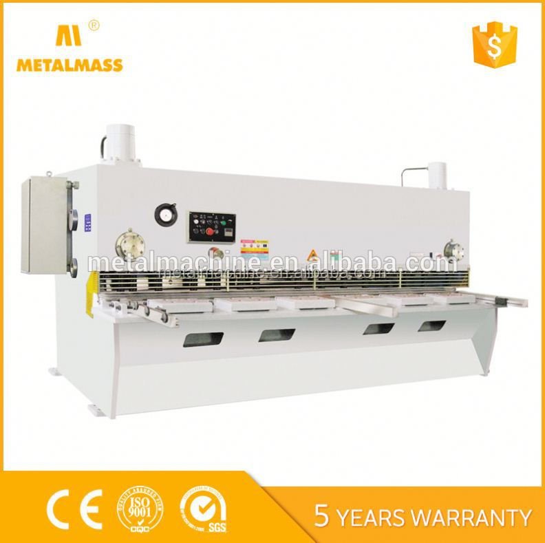 Nc 8 2500Mm Hydraulic Manual Sheet Metal Shearing Machine Advantages And Disadvantages