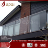 China manufacturer cheap prices glass balcony handrail railing