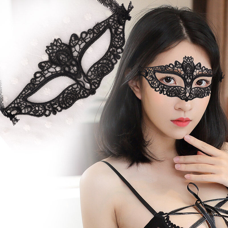 2017 Popular Sexy Black White Blue Lace Party Masks Wholesale Sexy Lace Mask Women's Halloween Masquerade Party Masks