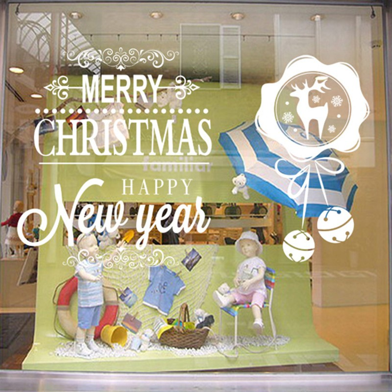 Christmas ornaments wall sticker for kids room christmas for Room decor embellishment art 3d
