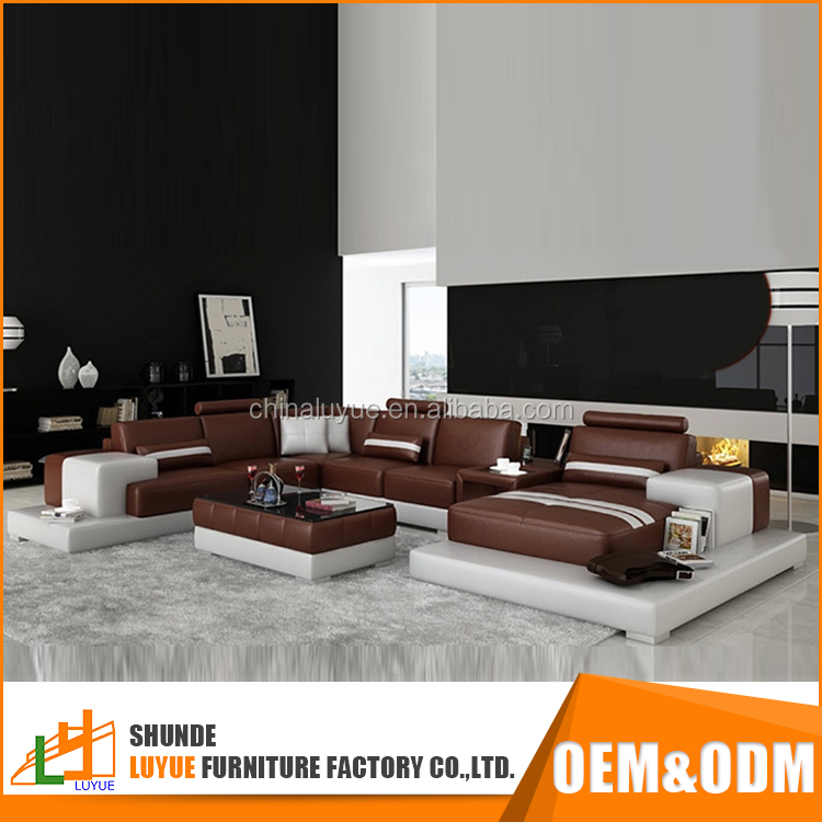 popular design european style pictures wood sofa furnituret real leather sofa