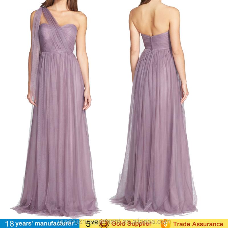 8730daff63 2016 moda vestidos de festas infinito conversível tule vestido de noite de maternidade  maxi vestidos dama