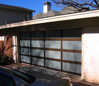 Tür Garage Haus automatische milchglas rollen oben interior car garage haus tür barn