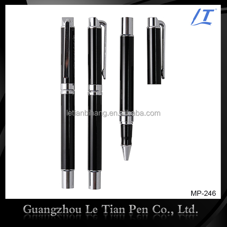 Special Creative Design Promotional Liquid Metal Roller Pen for business