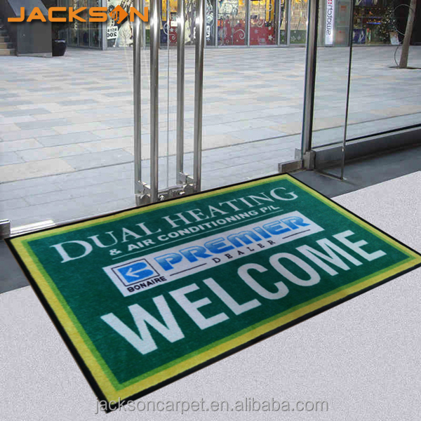 Custom Design Inject Printing Logo Floor Mat