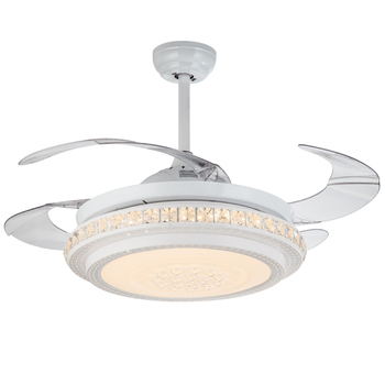 New Fancy Ceiling Fans Prestige With Crystal Lights Kit Chandelier Ceiling Lamp Fan Combo Motor 220v Fan Light Ceiling Buy Electric Ceiling Fan Parts 4 Light And Fan Control With Remote