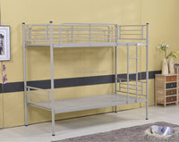 Bedroom White Safety Metal Kids Double Deck Bed - Buy Kids Double ...