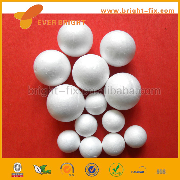 Smooth Foam Balls for Crafts, Foam Ball for School Projects, Smooth Foam Balls