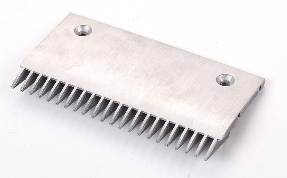 CNACP-350 Length 199mm 22T Escalator Aluminum Comb