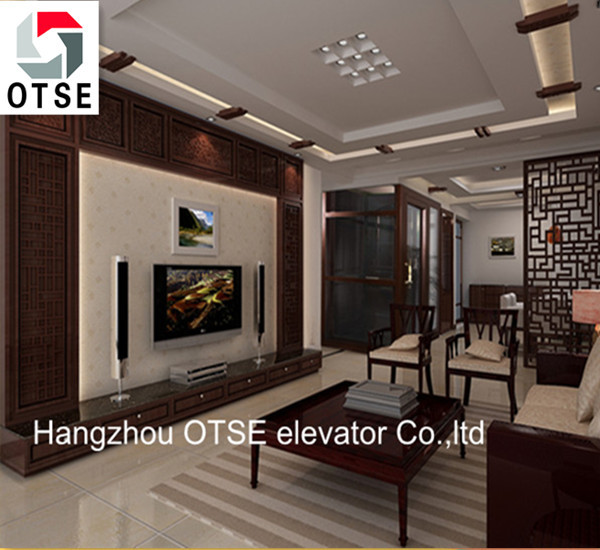 Home Elevators Cost low cost small home elevator with good quality and nice decoration