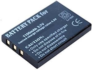iTEKIRO 1100mAh Battery for DXG DXG-521 DXG-571V DXG-581V DXG-589V DXG-5B6V DXG-5B9V DXG-5B9VB DXG-5B9VL DXG-5B9VR DXG-5B9VS DXG-5D7V DXG-5F9V DVH-582 DVH-598 DVV-581 DVV-891 Digital Video Camcorders