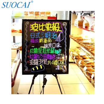 70 50cm led writing board attractive poster board for advertisement