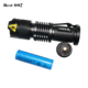 Mini zoomable army torch light led rechargeable military tritium torch