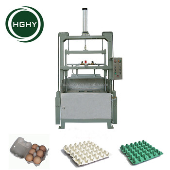 paper and carton recycling machine for egg carton egg tray molding