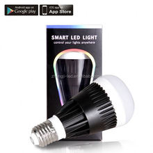 new products on the market,Bluetooth RGBW wifi epistar chips led bulb light