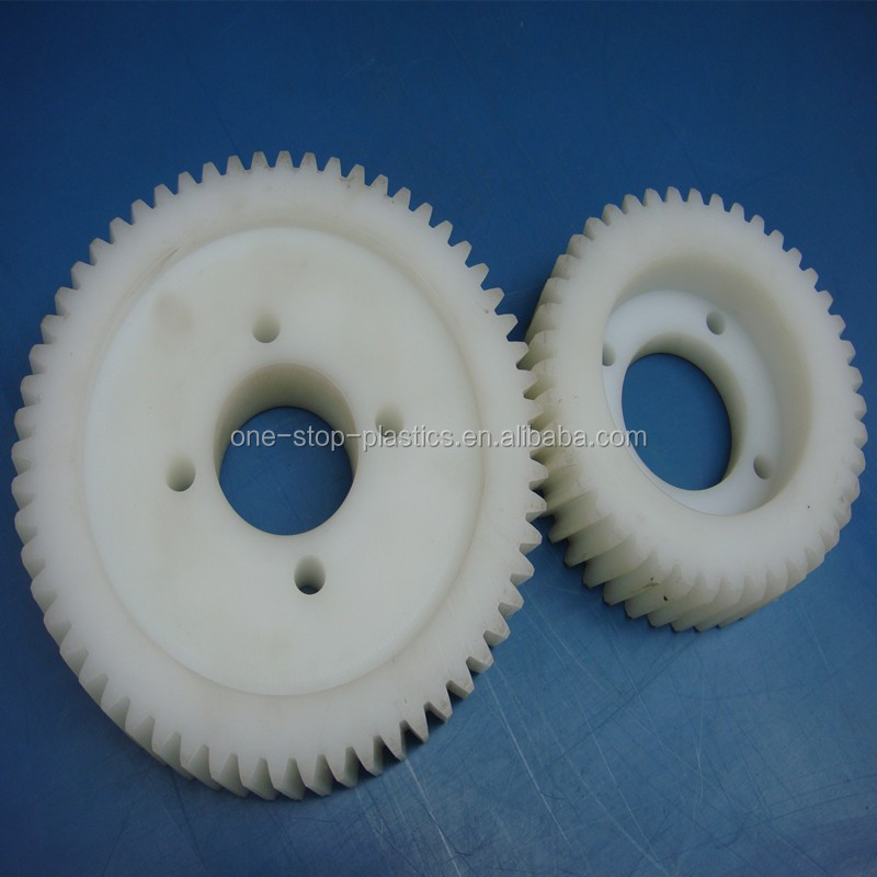 High performance injection plastic mould custom plastic Nylon6 Casting Nylon worm gear wheel