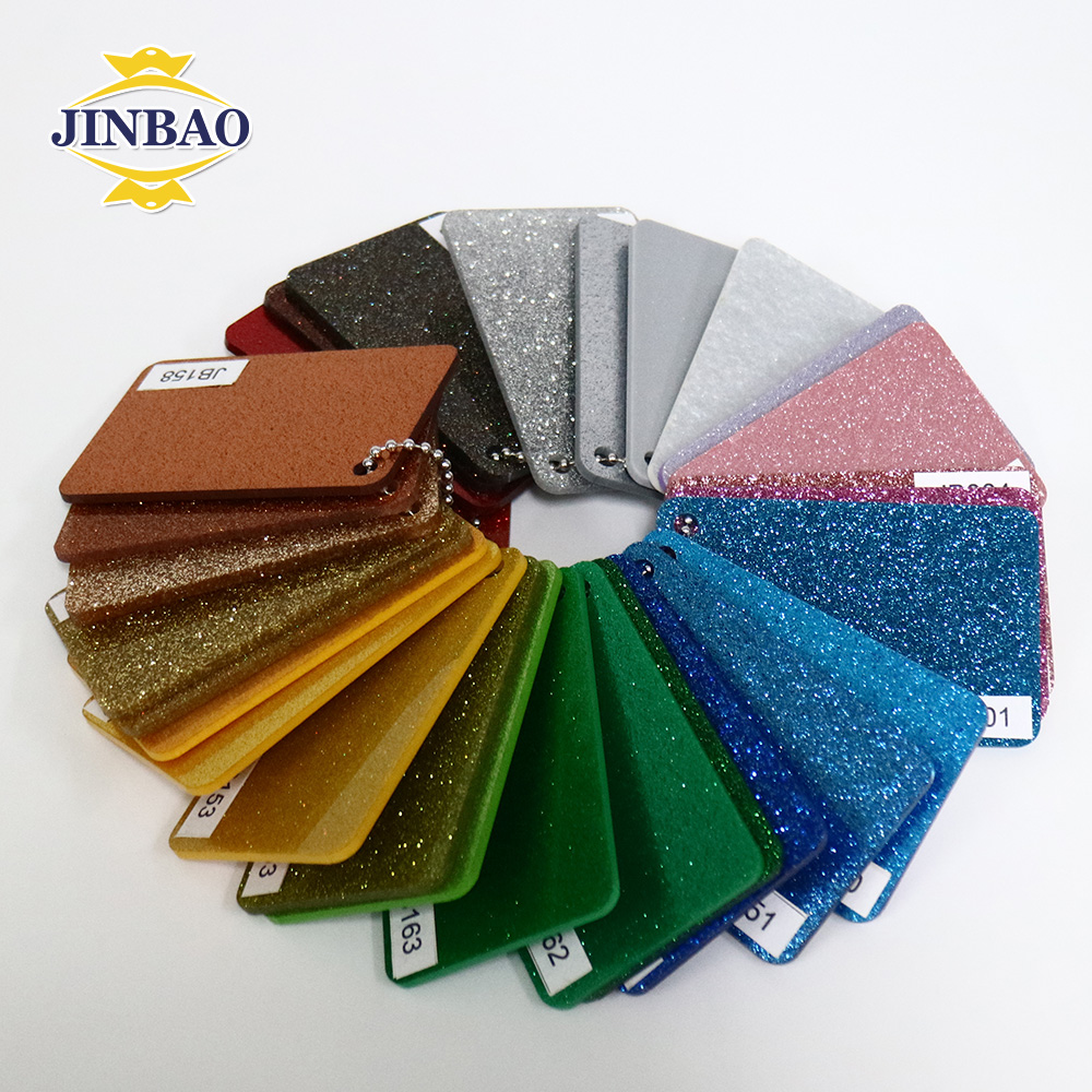 JINBAO 3mm 4mm 5mm interieur decoratieve stone gedessineerde marmer plexiglas plaat