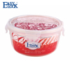 Microwavable Round Clear PP food container 600ml