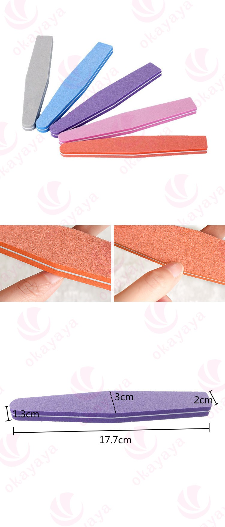 cos promotional mini nail file disposable nail buffers manufacturer