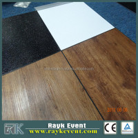 Ballroom portable folding PVC Dance Floor vinyl flooring
