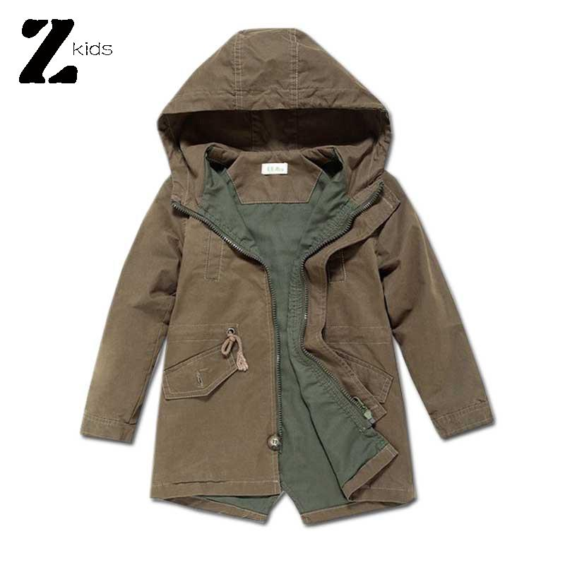 2015 Baby Boys Jackets And Coats Spring Autumn Cardigan In Cotton Windbreaker Children Outerwear Long Hoodies Brand 3 Colors