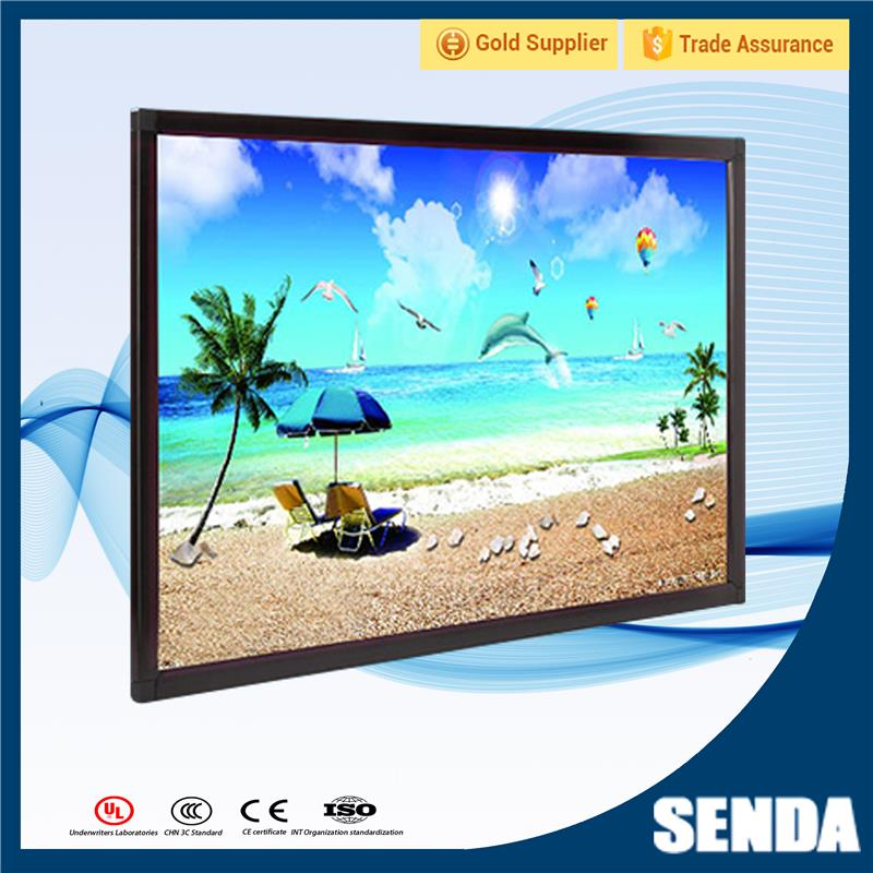 Hot Selling 19 Inch Open Frame Touch Monitor Resistive Saw Ir Capacitive Optional with Low Price