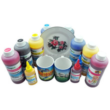 Chinese painting for cup printing heat transfer machine sublimation ink