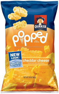 cheddar cheese bag/ cheese packing bag/ rice snacks packing bag
