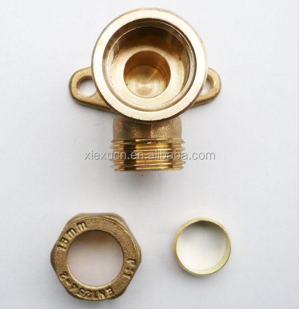 Stainless steel compression union fitting