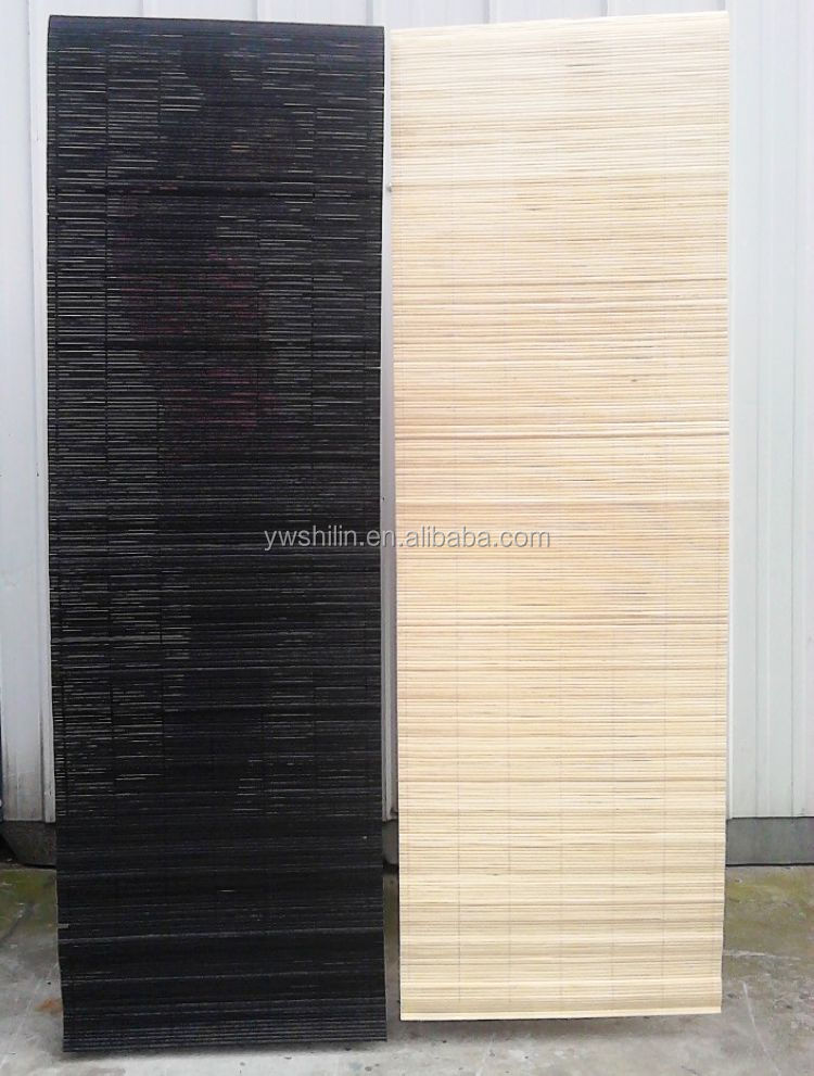 Bambusmatte Jalousien Bambus Vorhang Und Matte Rolle Horizontale