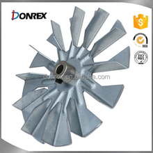 OEM service iron and stainless steel aluminium fan impeller
