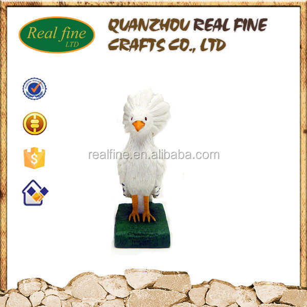 OEM/ODM small decoration famous cartoon resin bird