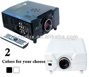 low cost hdmi video projector / projectors hd 1080p with TV tuner