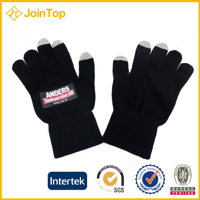 Jointop China Supplier Mens Winter Knitted Scarves Hat And Gloves