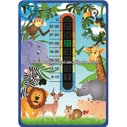 Babybadje thermometer strip, zwembad thermometer