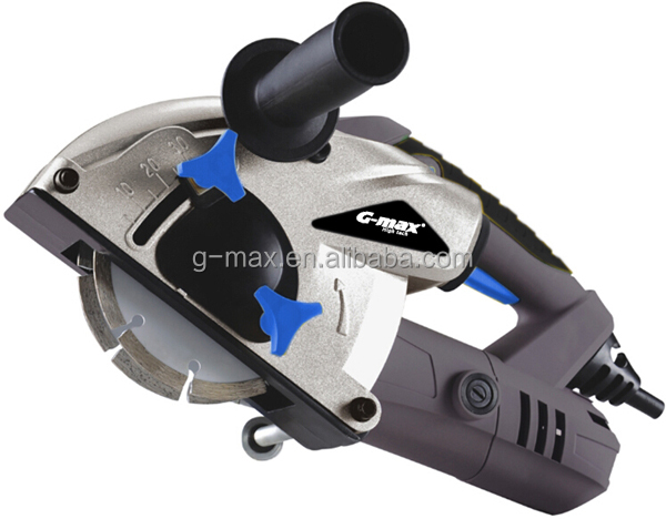 G-max Power Tools 1500W 125mm Concrete Wall Chaser GT19704