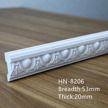 PU waist line for wall protection, wall decorative molding