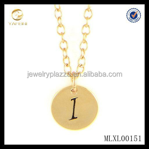925 Sterling Silver letter C Necklace ,Silver Initial Gold Disc letter C charm necklace