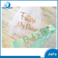 Beautiful Bridesmaid Sashes Bachelorette Party