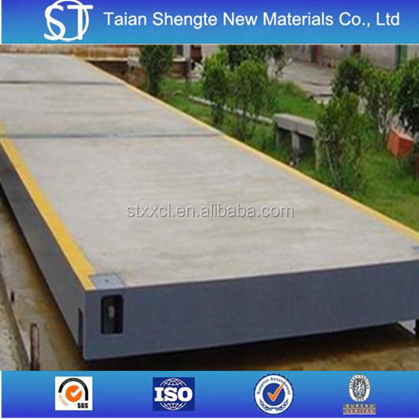 High Quality 3*6 m 60T electronic truck scale/weighbridge with best price