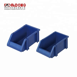 tool storage heavy duty plastic stackable storage boxes bins
