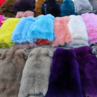 Wholesale colorful fox fur skin pelt