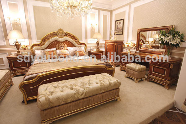 0062 Luxury Palace Furniture Home Used Bedroom Furniture Sets ...