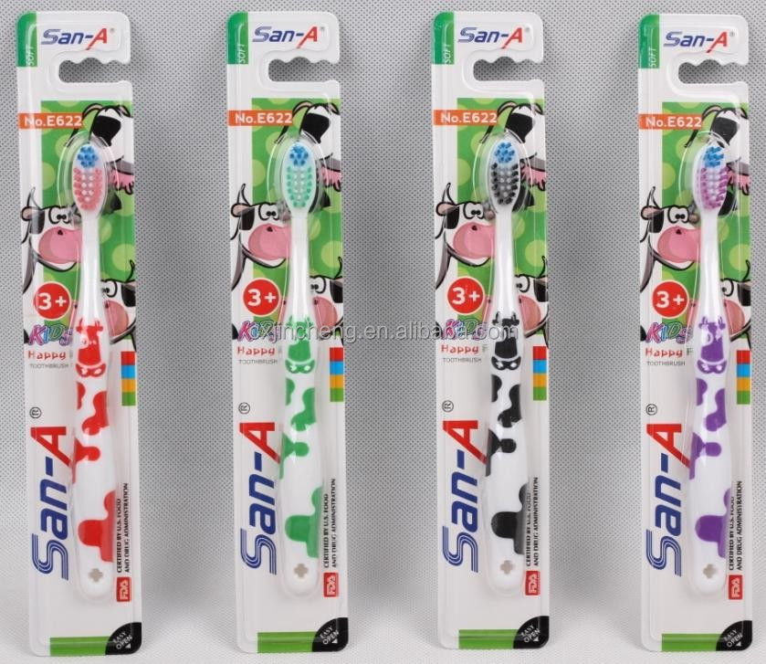 Design for kis tongue clean San-A E622 tooth brush