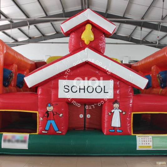 My School Inflatable Playground/fun city