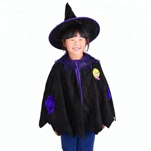 Sunbeauty Baby Halloween Witch Hat Clothes Costumes for Kids